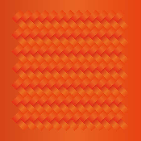 wreathe: orange seamless weave fabric cloth textile pattern background