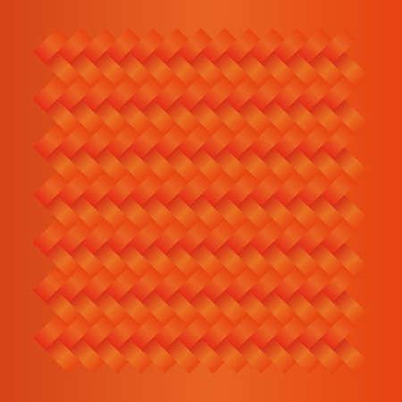 wreathe: orange seamless weave fabric cloth textile pattern background