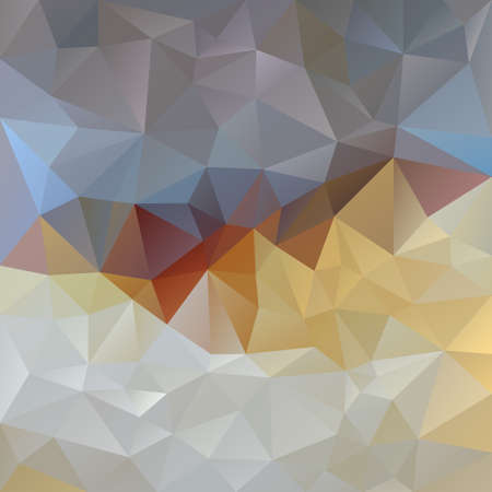 opal: vector polygonal background with irregular tessellations pattern - triangular design in opal colors - gray, blue, brown, violet, beige