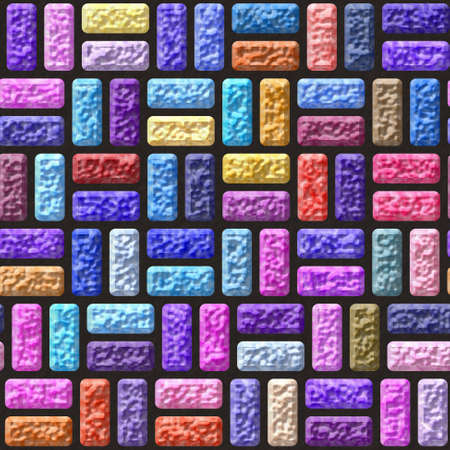 grout: color bricks stone seamless pattern texture background