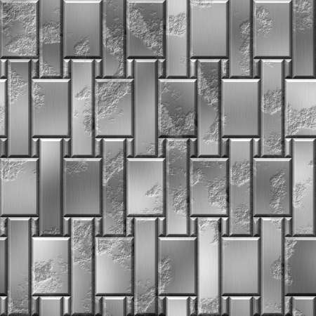 scratchy: metal panels seamless pattern texture background with scratchy rectangles in different sizes