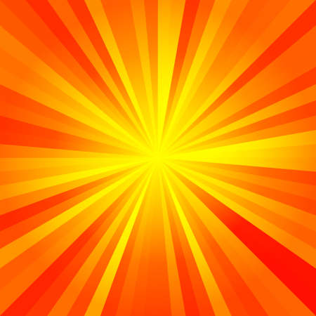 sunny rays pattern texture background - red, orange, yellow