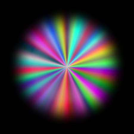significantly: full spectrum rainbow abstract flower pattern texture background
