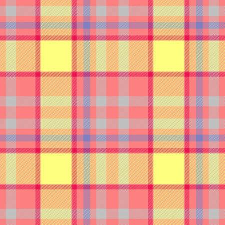 scots: pastel pink yellow blue checkered diamond tartan plaid seamless pattern texture background