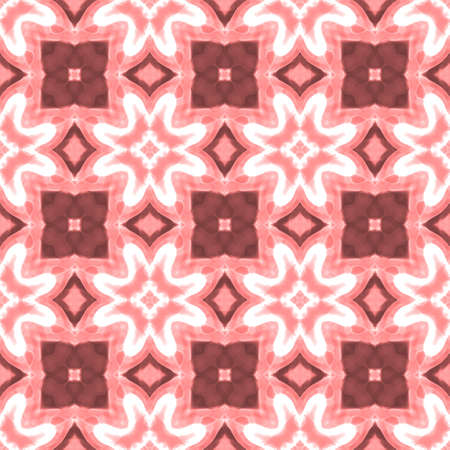 coating: old pink floral geometrical seamless pattern texture background