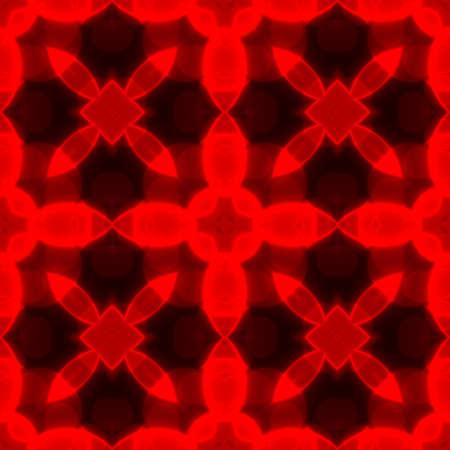 shinning light: red caleidoscope geometric seamless pattern texture background
