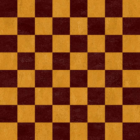 woody: woody brown and beige chessboard seamless pattern texture background Stock Photo