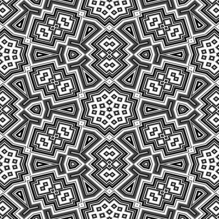 wallboard: black and white geometric floor seamless pattern texture background
