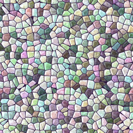 stony: pastel full color marble irregular stony mosaic seamless pattern texture background with black grout