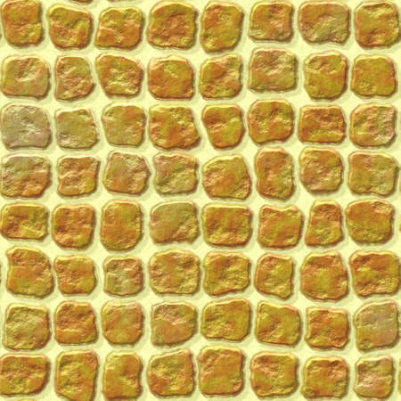 wallboard: gold yellow stone plastic tiles seamless pattern texture background