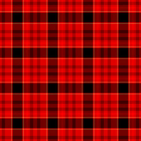 scots: red black brown yellow check diamond tartan plaid fabric seamless pattern texture background