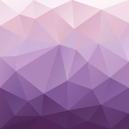 tessellation: vector abstract irregular polygon background with a triangular pattern in purple gradient colors