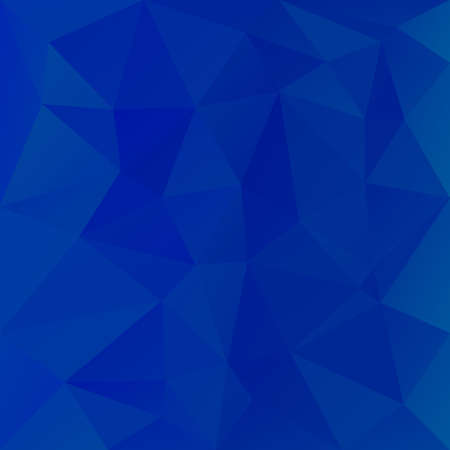 tessellation: vector abstract irregular polygon background with a triangular pattern in sky blue colors Illustration