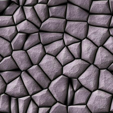 stark: gray cobble stony plastic irregular seamless pattern texture background