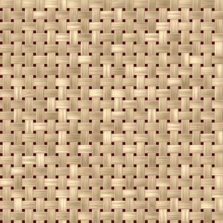 rattan: light woody rattan wicker weave seamles pattern texture background