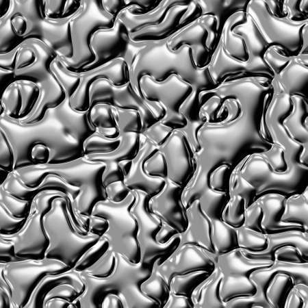 plastic backdrop: silver metal bumps seamless pattern texture background Stock Photo