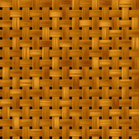 rattan: woody rattan wicker weave seamles pattern texture background