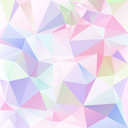 tessellation: abstract irregular polygon background with a triangular pattern in light pastel colored colors
