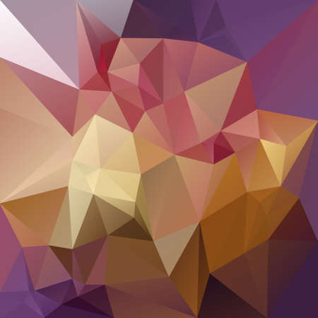tessellated: abstract irregular polygon background with a triangular pattern in purple, pink and yellow colors