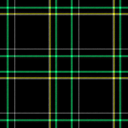 black yellow green white check diamond tartan plaid fabric seamless pattern texture background