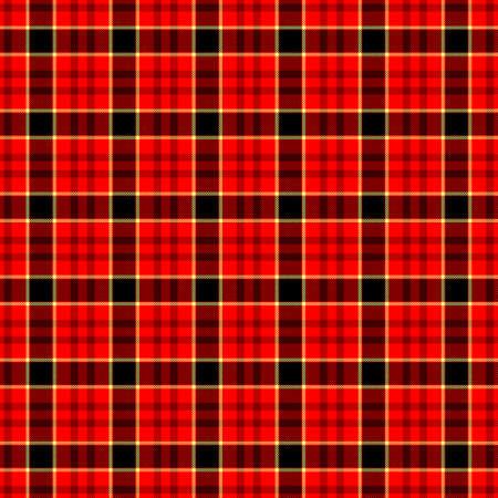 scots: red black yellow check diamond tartan plaid fabric seamless pattern texture background
