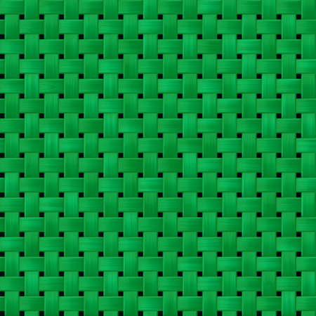 etched: green woody rattan wicker weave seamless pattern texture background