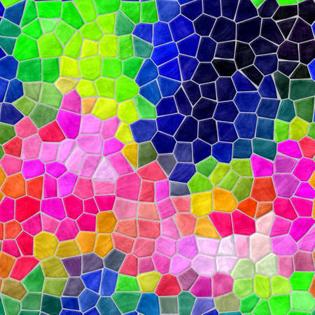 infra: mosaic highlight vibrant infra color full spectrum pattern texture background with gray grout