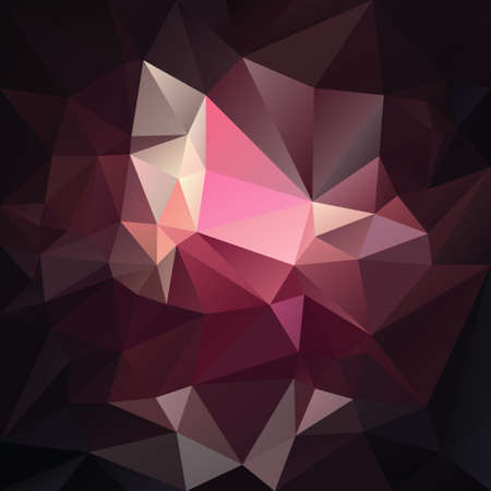 abstract irregular polygon background with a triangular pattern in dark pink, purple and black colors