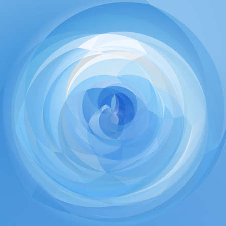 rotund: abstract modern swirl background - light sky  blue colored