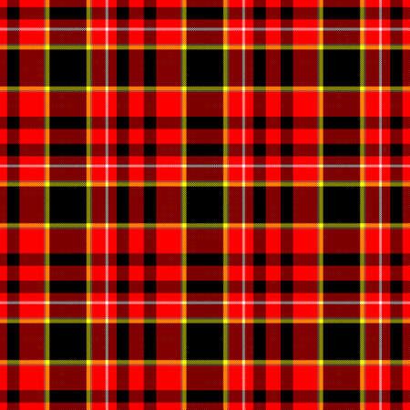 BERPRüfen Diamant Tartanplaid Stoff nahtlose Muster Textur Hintergrund - rot, schwarz, gelb und weiß gefärbt Standard-Bild - 59161491