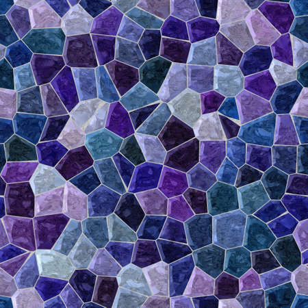 grout: seamless mosaic blue and purple pattern texture background with white grout