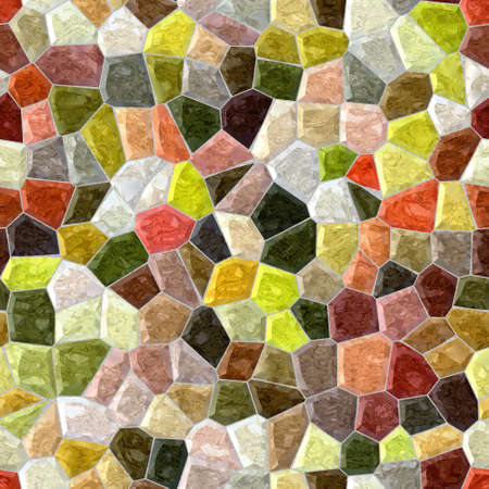 grout: natural full color seamless mosaic pattern texture background with gray grout