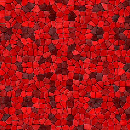 grout: red mosaic pattern texture background with black grout