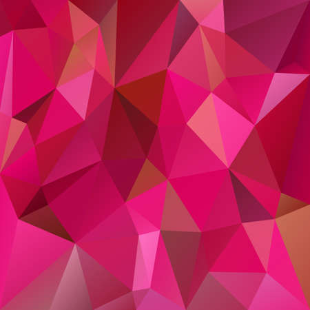 vector abstract irregular polygon background with a triangular pattern in pink magenta colors