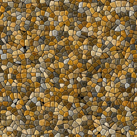 grout: natural beige and brown colored abstract marble irregular plastic stony mosaic pattern texture seamless background with black grout