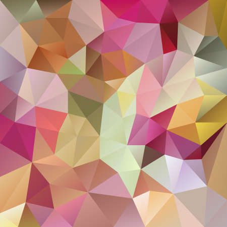 vector abstract irregular polygon background with a triangular pattern in pastel full spectrum colors