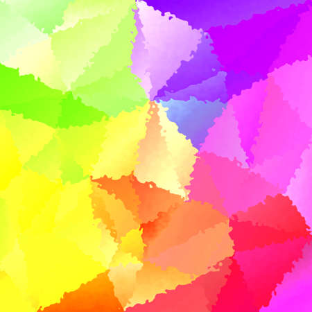 serrate: abstract full spectrum rainbow stained pattern texture background