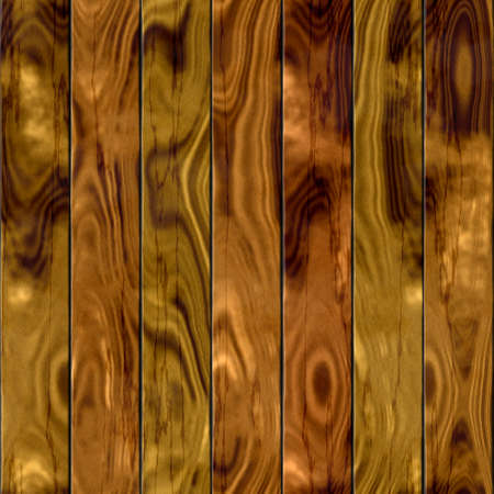brown wood: dark brown wood deck board seamless background with seven planks