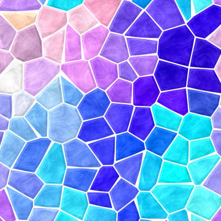 full spectrum colored abstract marble irregular plastic stony mosaic pattern texture background with white grout - vibrant pastel colors
