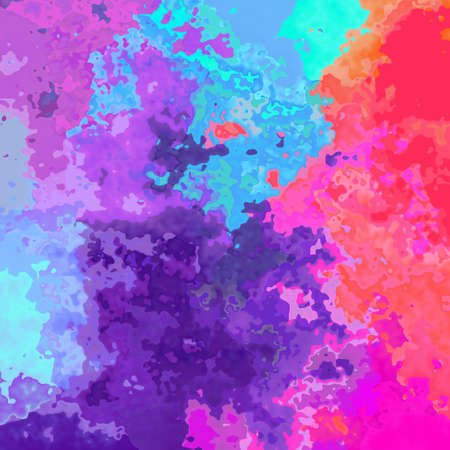 abstract stained pattern texture background - neon pastel full color spectrum rainbow