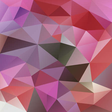 abstract irregular polygon background with a triangle pattern in pastel pink, purple and red color