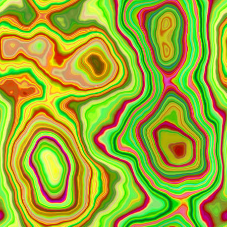 marble agate stony seamless pattern texture background - vibrant green, yellow, orange, red and hot pink color