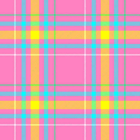 check diamond tartan plaid fabric seamless pattern texture background - pastel pink, yellow, blue, green and white color