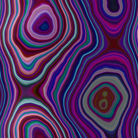 marble agate stony seamless pattern texture background - multi dark color - purple, violet, pink, blue, green Stock Photo