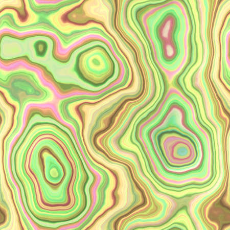 wallboard: marble agate stony seamless pattern texture background - light pastel yellow, pink, green, beige and brown color Stock Photo