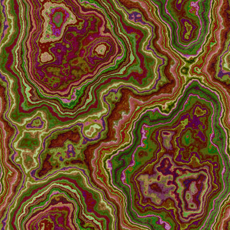 marble agate stony seamless pattern texture background - red and green color
