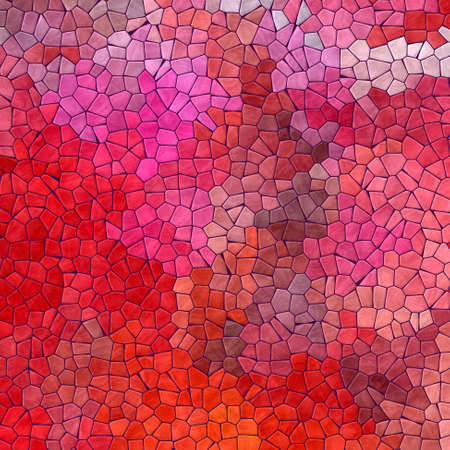 significantly: abstract nature marble plastic stony mosaic tiles texture background with purple grout - vibrant red, pink and magenta colors