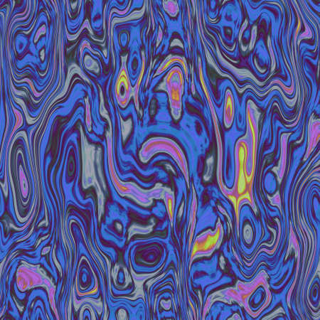 chaotic: abstract stained seamless pattern texture background blue and purple multi colors - modern painting art