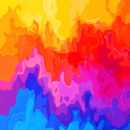 abstract stained seamless pattern texture background vibrant multicolored - modern painting art Stock Photo