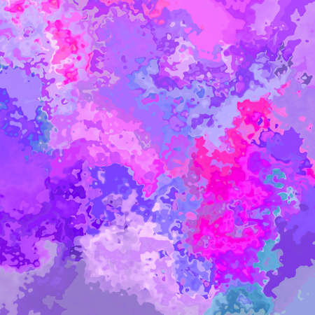 abstract stained seamless pattern texture background sweet purple, violet, pink, magenta and blue colors - modern painting art